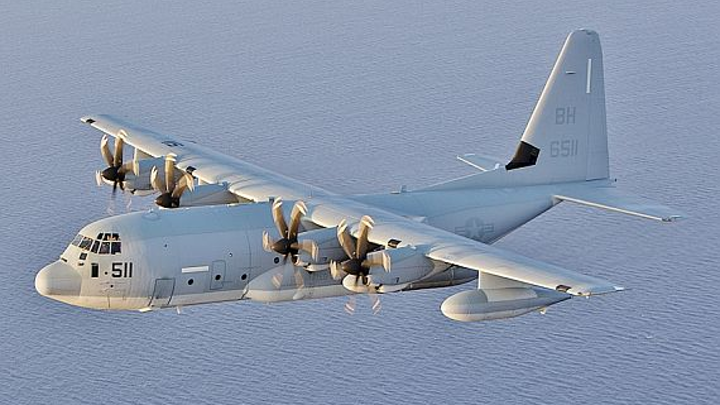Marines look to ViaSat for hatch-mount SATCOM antenna for streaming video aboard KC-130J aircraft
