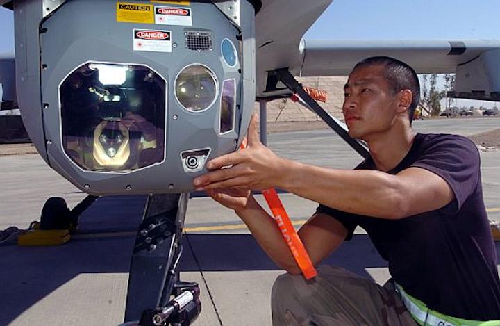 Air Force to buy Raytheon multispectral UAV sensor payloads for Reaper hunter-killer drone