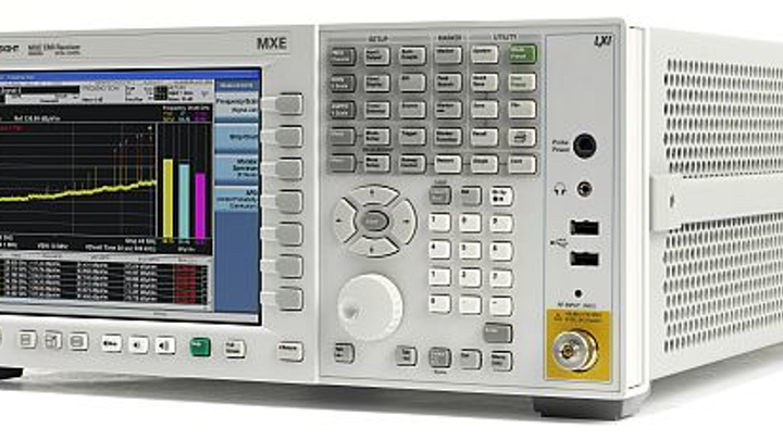EMI receiver for facility EMC compliance testing per MIL-STD-461 and CISPR 16-1-1 introduced by Keysight