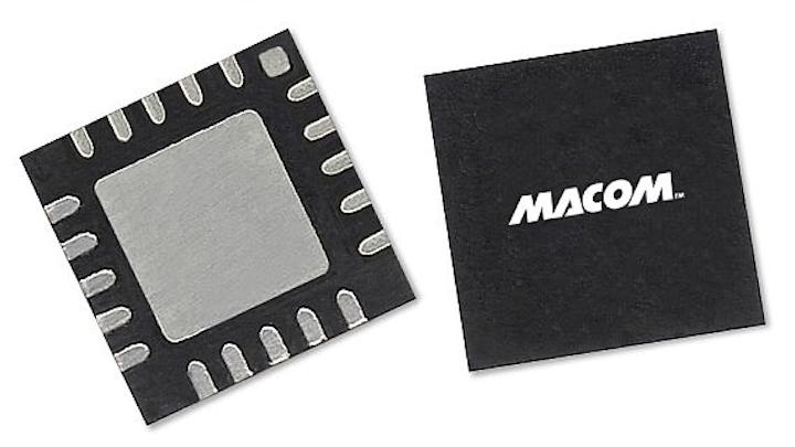 High-inearity 4-Watt power amplifier for Ka-band high-data-density SATCOM introduced by M/A-COM