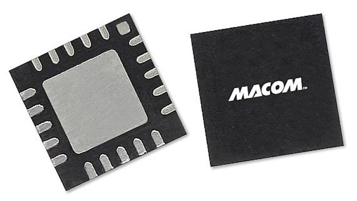 High-inearity 4-Watt power amplifier for Ka-band high-data-density SATCOM introduced by M/A-COM