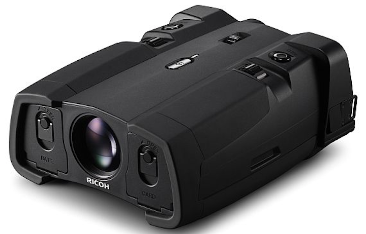Digital binoculars for military, homeland security, and nighttime applications introduced by Ricoh