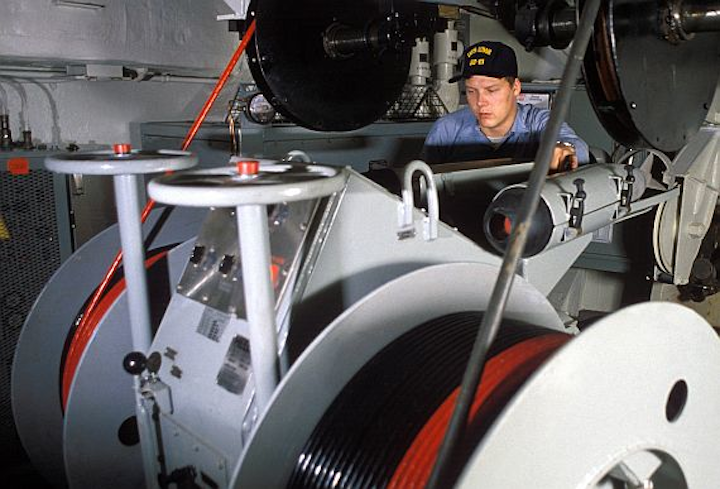 Navy orders shipboard torpedo defense systems to protect surface warships from enemy attack