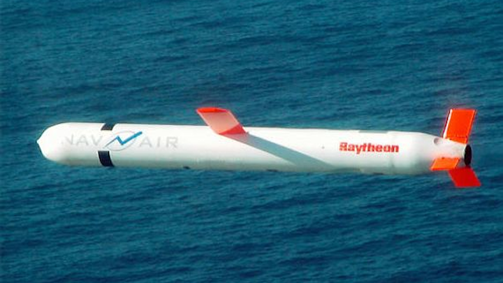 Navy asks Raytheon to build 100 more advanced Tomahawk cruise missiles in $139.2 million order