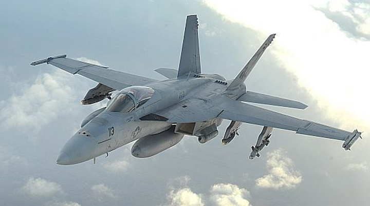 Navy orders 46 sophisticated electronic warfare jammers for Navy F/A-18 Hornet strike fighters