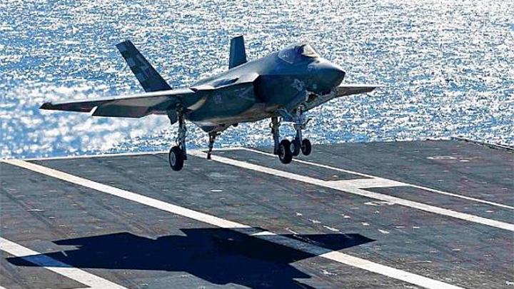 Raytheon to pursue full-scale development of carrier-based GPS aircraft landing system