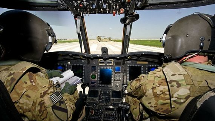 Army considering multispectral sensor fusion to help helicopter pilots land in bad conditions