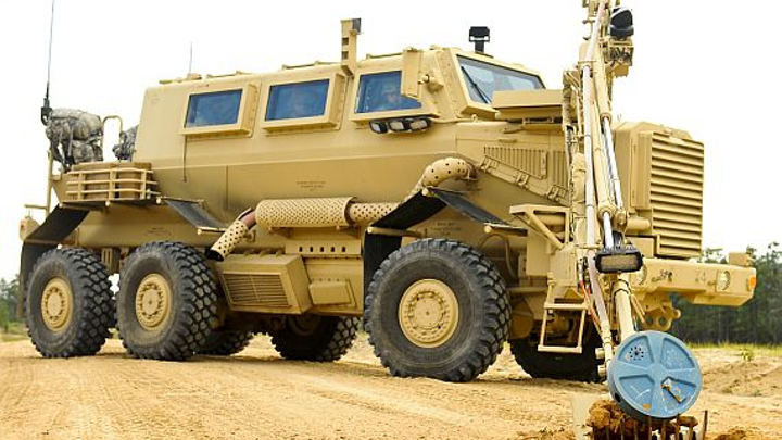 Army reaches out to industry for mature vehicle-mount IED detection and marking capabilities