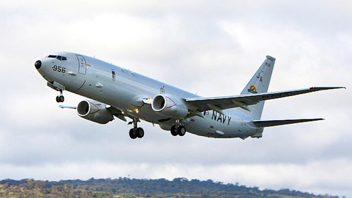 Navy makes plans to order 29 new P-8A Poseidon maritime patrol jets for U.S. and Australia