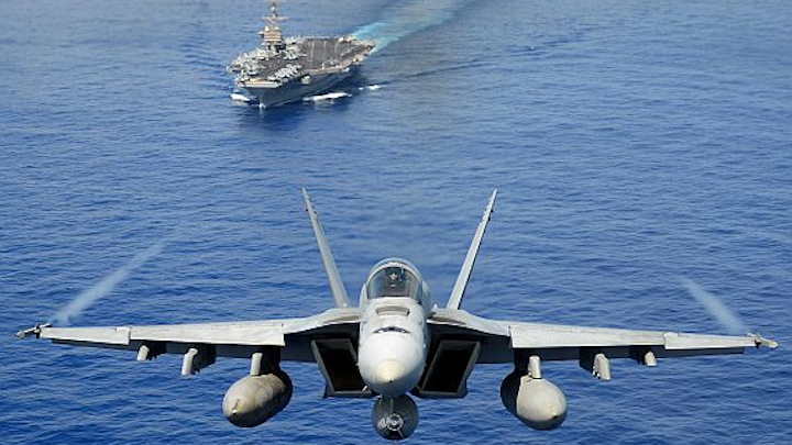 Harris advanced targeting systems enable Navy jets to find and attack targets quickly