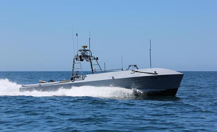 Textron to continue supporting Navy's UISS unmanned minesweeping surface vessel program
