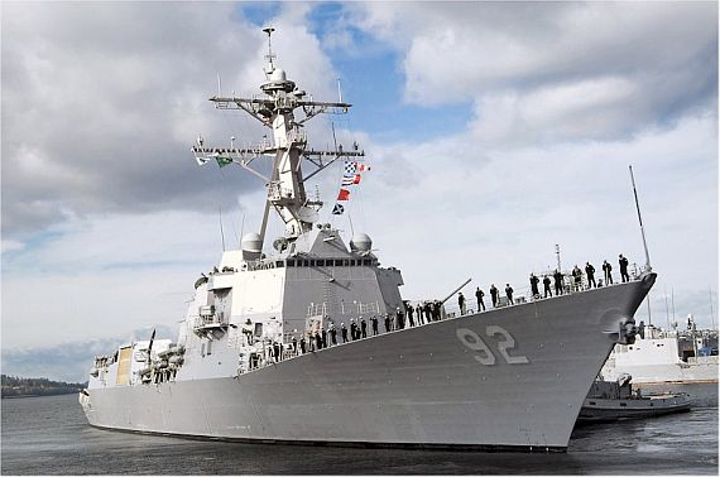 Navy destroyers to increase efficiency and save fuel with new hybrid electric propulsion