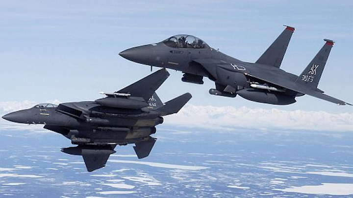 Air Force chooses solid-state data recorders from Calculex for F-15 jet fighters and bombers