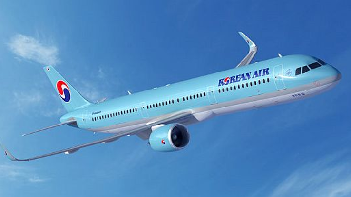 Korean Air orders 100 next-gen single-aisle passenger jets Tuesday from Boeing and Airbus