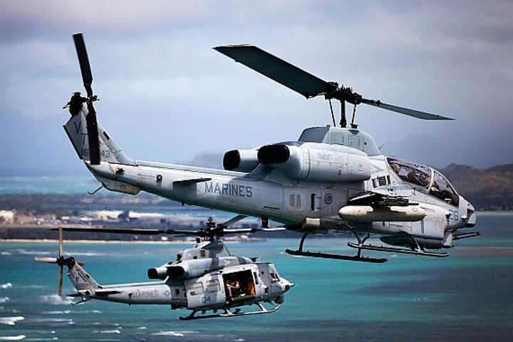 Navy shopping for 1553-to-Ethernet interface boxes for Marine Corps UH-1Y and AH-1Z helicopters