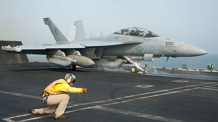 Electronic warfare transmitters from Cobham chosen for radar jammers aboard Navy EA-18G jets