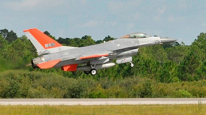Air Force to convert 25 F-16 jet fighters to target drones in $28.5 million contract to Boeing