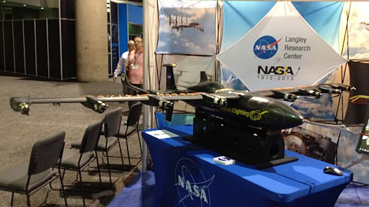 NASA-developed distributed electric propulsion could be key to future ultra-quiet UAV