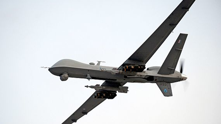 Air Force orders eight MQ-9 Reaper Block 5 Reaper attack drones from manufacturer General Atomics
