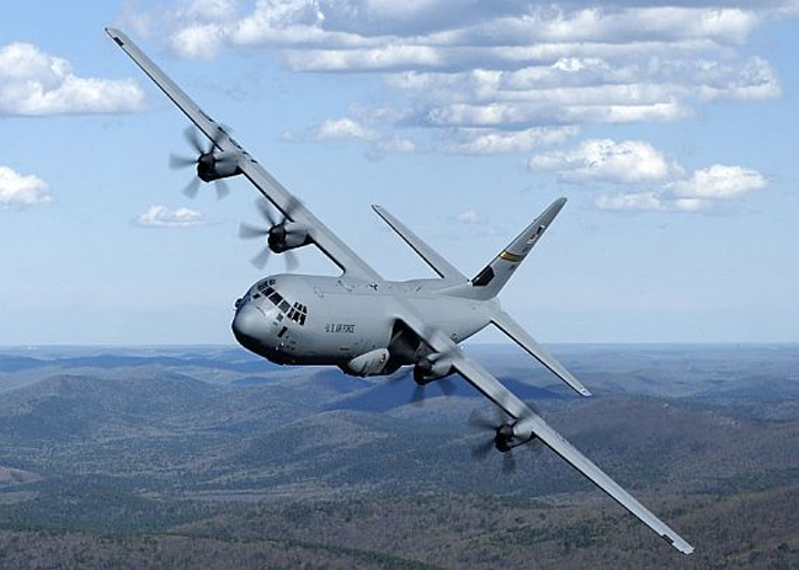 Air Force orders 17 new C-130J utility transport aircraft for search, rescue, and refueling