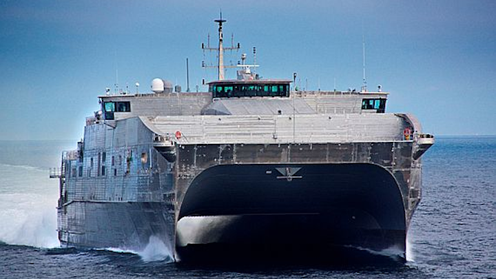 Navy starts process of ordering eleventh expeditionary fast transport and ship electronics
