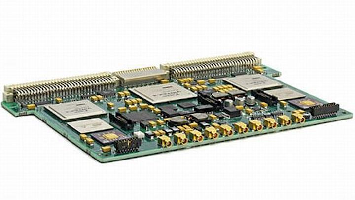 Navy chooses Mercury Defense for RF embedded computing modules for airborne EW training