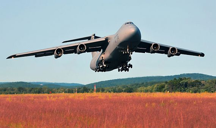 End in sight for major avionics and engine overhaul for Air Force C-5 long-haul aircraft fleet