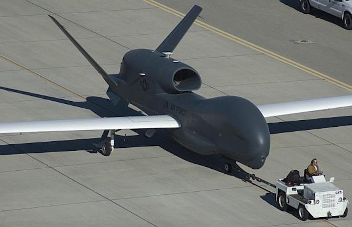 Northrop Grumman gets $3.2 billion contract to handle Global Hawk upgrades over next decade