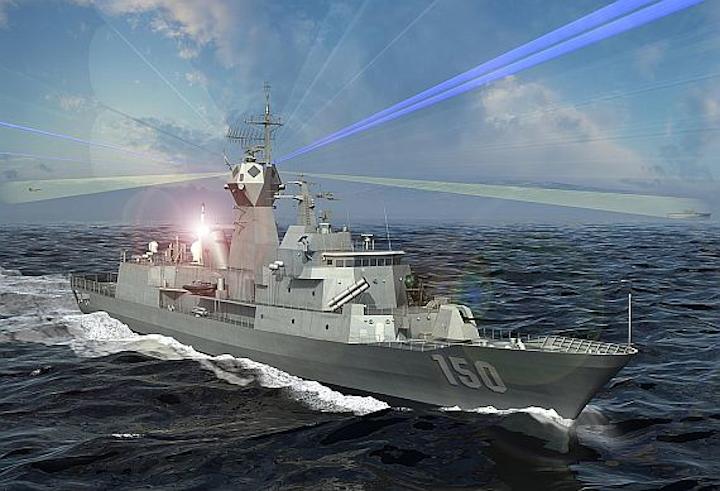 Raytheon developing shipboard antennas to handle radar, communications, and EW simultaneously