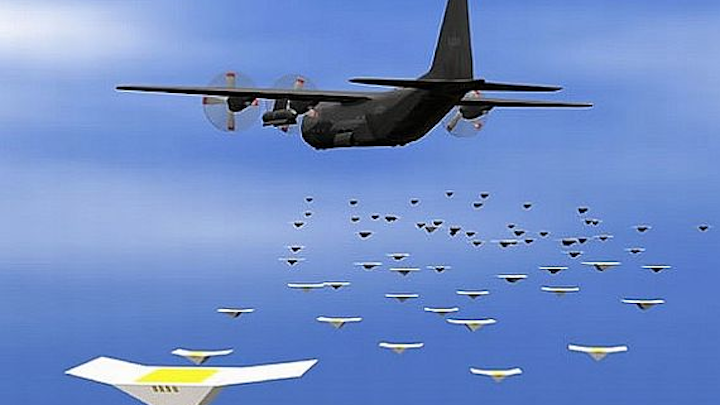 DARPA rounds out Gremlins program with four companies to create overwhelming drone swarms