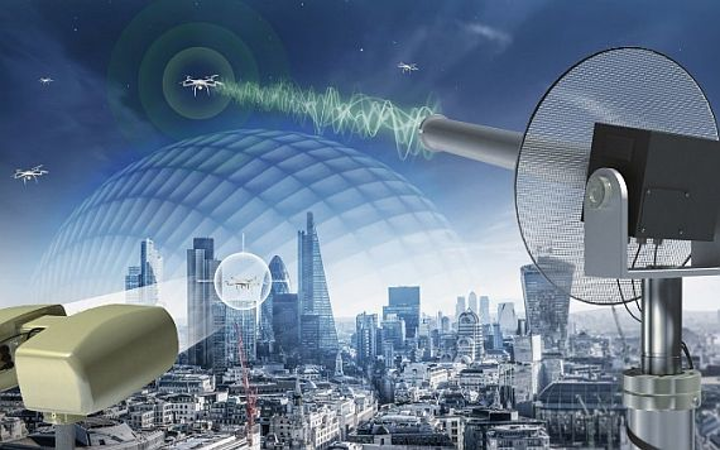 Perimeter-security counter-drone system offers ability to detect and commandeer intruding UAVs