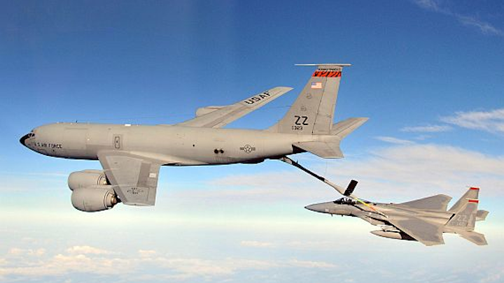 Collins to provide upgrade kits to convert Air Force KC-135 jets to glass cockpit avionics
