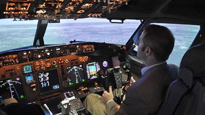 Navy orders P-8A Poseidon flight simulators from Boeing for aircraft operations and weapons