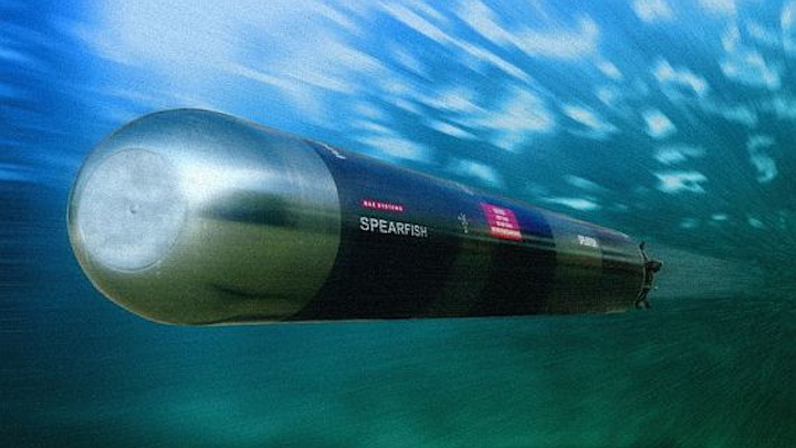 BAE Systems chooses embedded computing from Abaco Systems for Spearfish torpedo