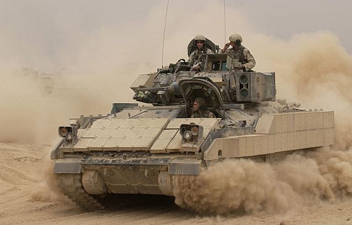 Army asks DRS to upgrade and repair digital power control in Bradley combat vehicle vetronics