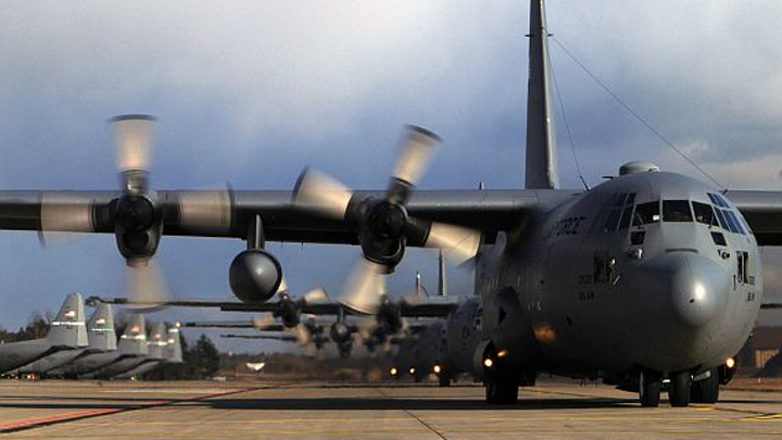 Air Force orders 44 digital avionics-equipped C-130J aircraft in several configurations