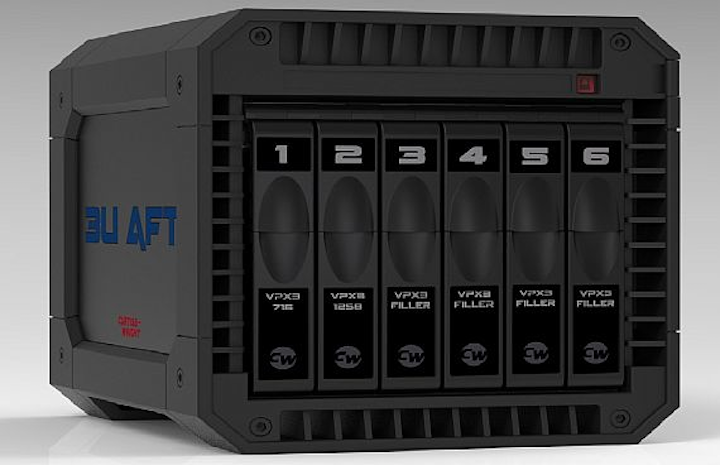 Curtiss-Wright demonstrates air cooling for rugged embedded computing in 3D printed chassis