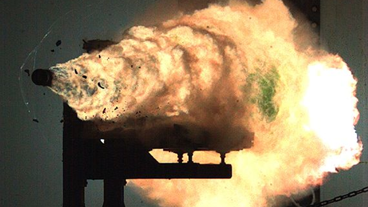 Navy chooses L-3 to develop energy storage technologies for electromagnetic railgun