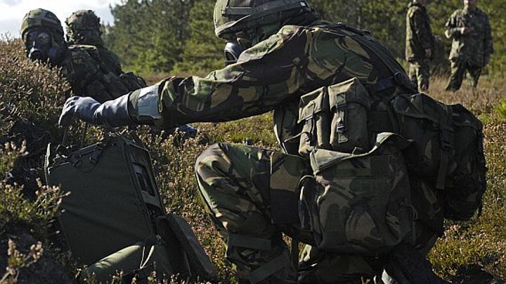 Leidos eyes active infrared spectroscopy chemical detection for weapons, poisons, narcotics