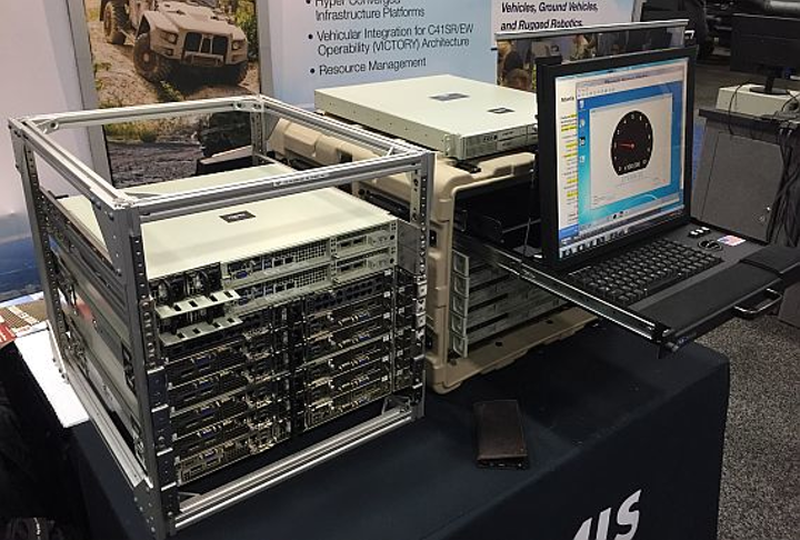 Hyper-convergence blends with virtual machines and rugged computers for network-centric warfare