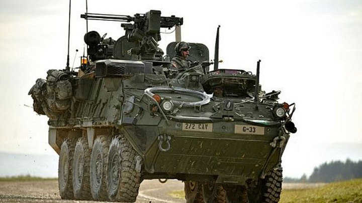 General Dynamics to equip Stryker combat vehicle with 30-millimeter cannon unmanned turret