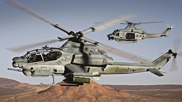 Bell prepares to build 24 new Marine Corps AH-1Z attack helicopters in $55.9 million contract