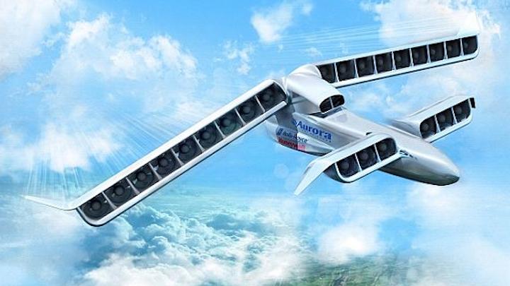 Aurora Flight Sciences prevails over three competitors to develop high-speed DARPA VTOL X-Plane