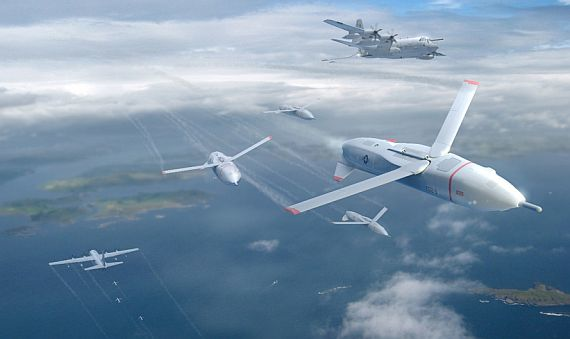 DARPA lets research contract for Gremlins program to launch overwhelming drone swarms