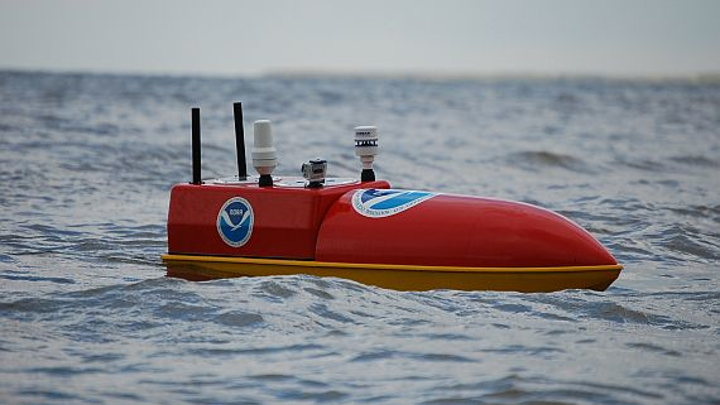 Not just for the Navy: unmanned surface vessels (USVs) in wide use for surveillance at NOAA