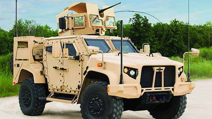 Army makes quarter-billion-dollar JLTV armored combat vehicle order to Oshkosh Defense