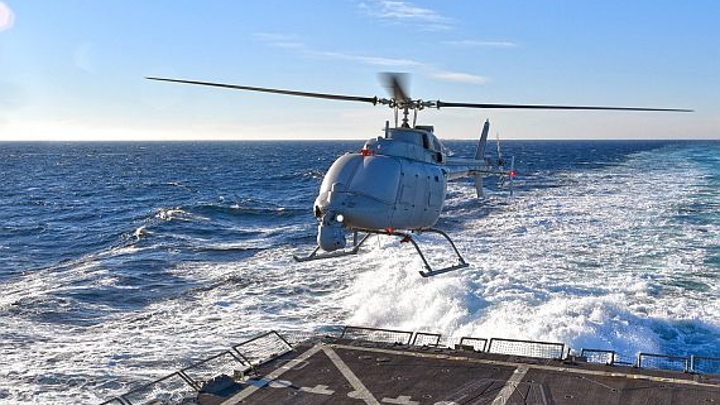 Raytheon continues project to upgrade Fire Scout UAV control system with open-systems software