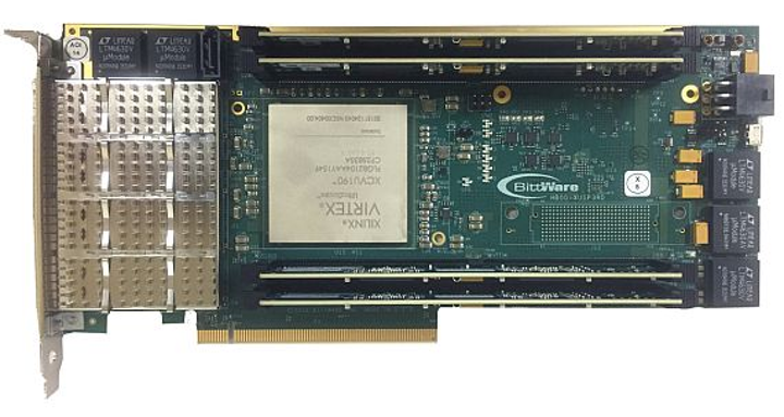 PCI Express board based on Xilinx UltraScale FPGA introduced by