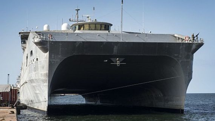 Navy prepares to build 12th expeditionary fast transport (EPF) vessel for battle-front maneuver