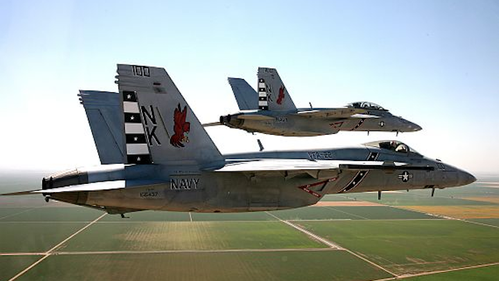 Boeing to upgrade RF and microwave avionics on Navy F/A-18E/F Super Hornet combat aircraft